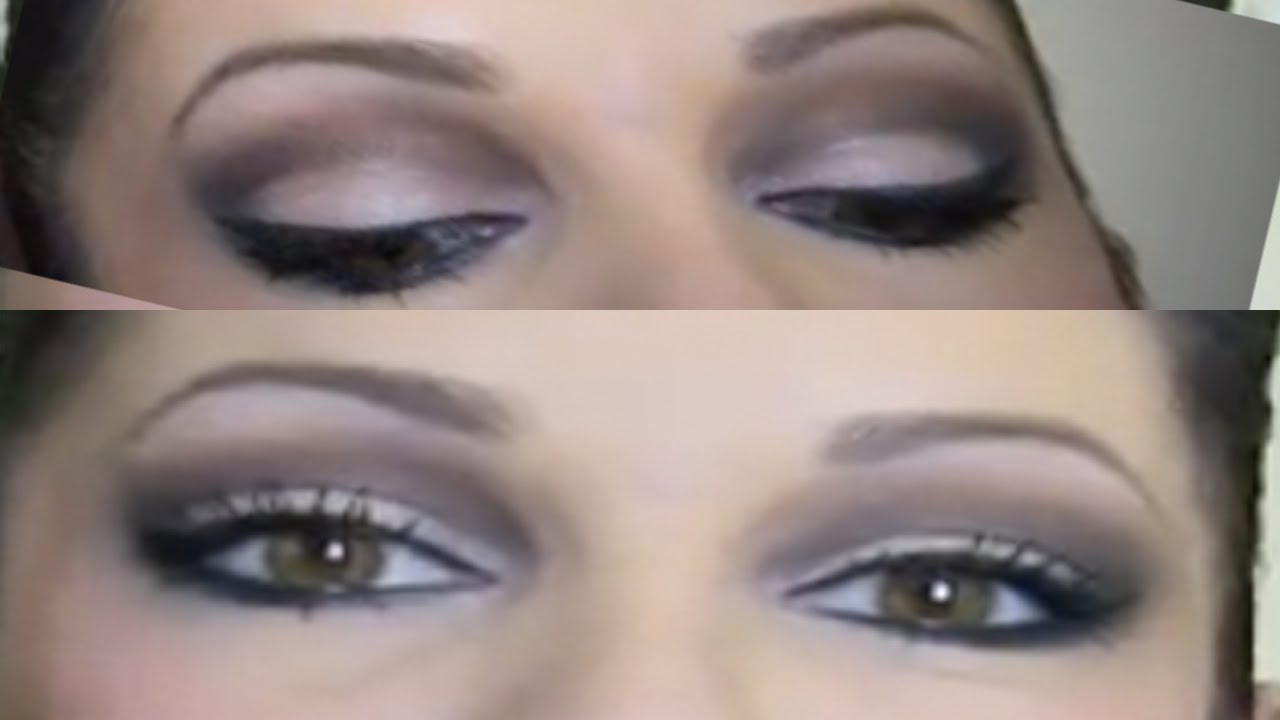 how to : cut crease makeup tutorial