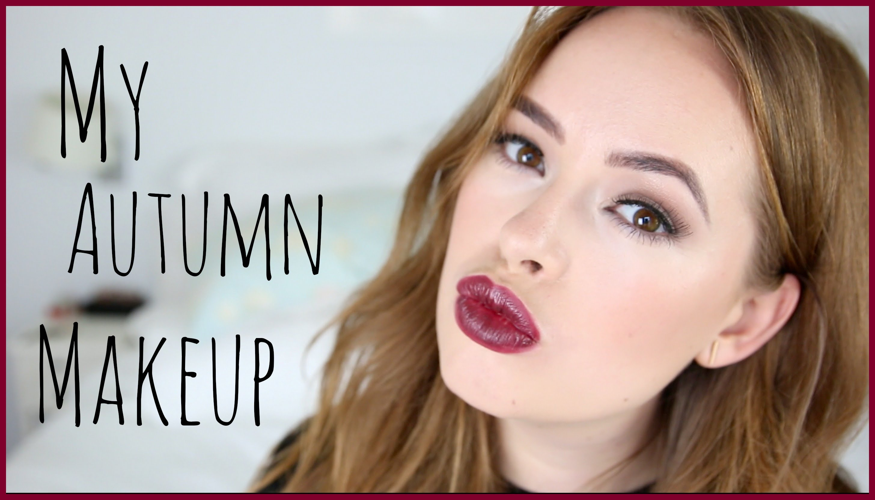 My Autumn Makeup Tutorial! | Tanya Burr