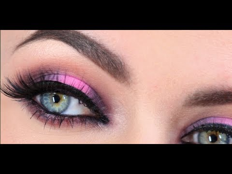 Pink and Brown evening look