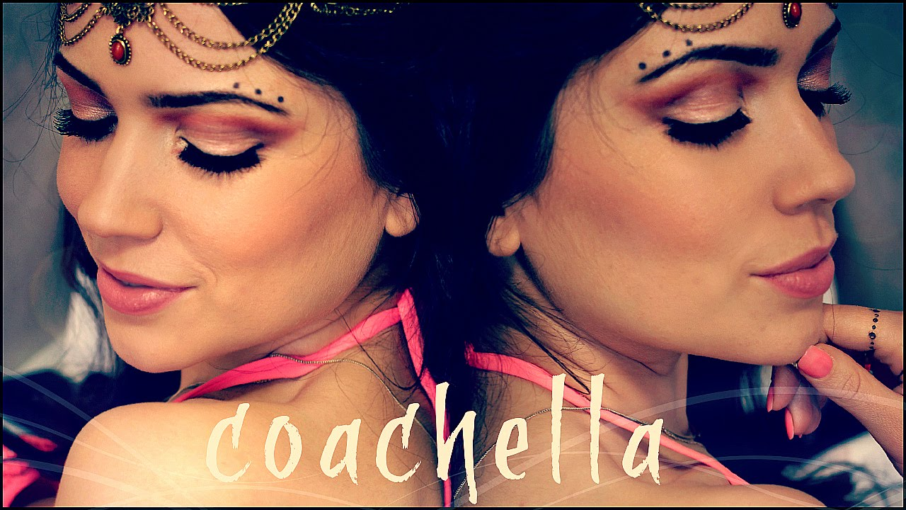 Music Festival (Coachella/Celtic inspired) Makeup Tutorial