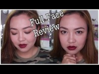 BROWN SMOKEY EYES + RED LIPS | Full Face Review
