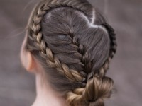 Sweetheart Braid Combo | Heart Hairstyle | Cute Girls Hairstyles