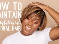 How to Maintain Straightened Natural Hair | Straightened Natural Hair Routine + Tips
